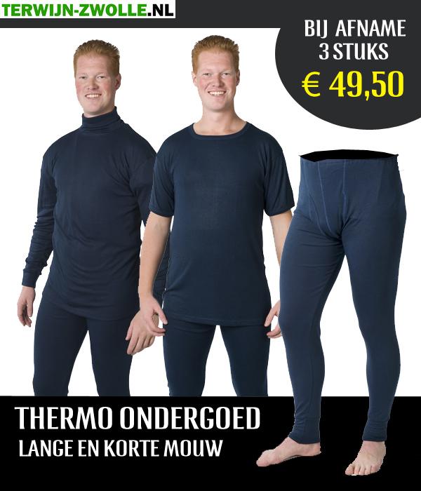 thermo ondergoed aanbieding